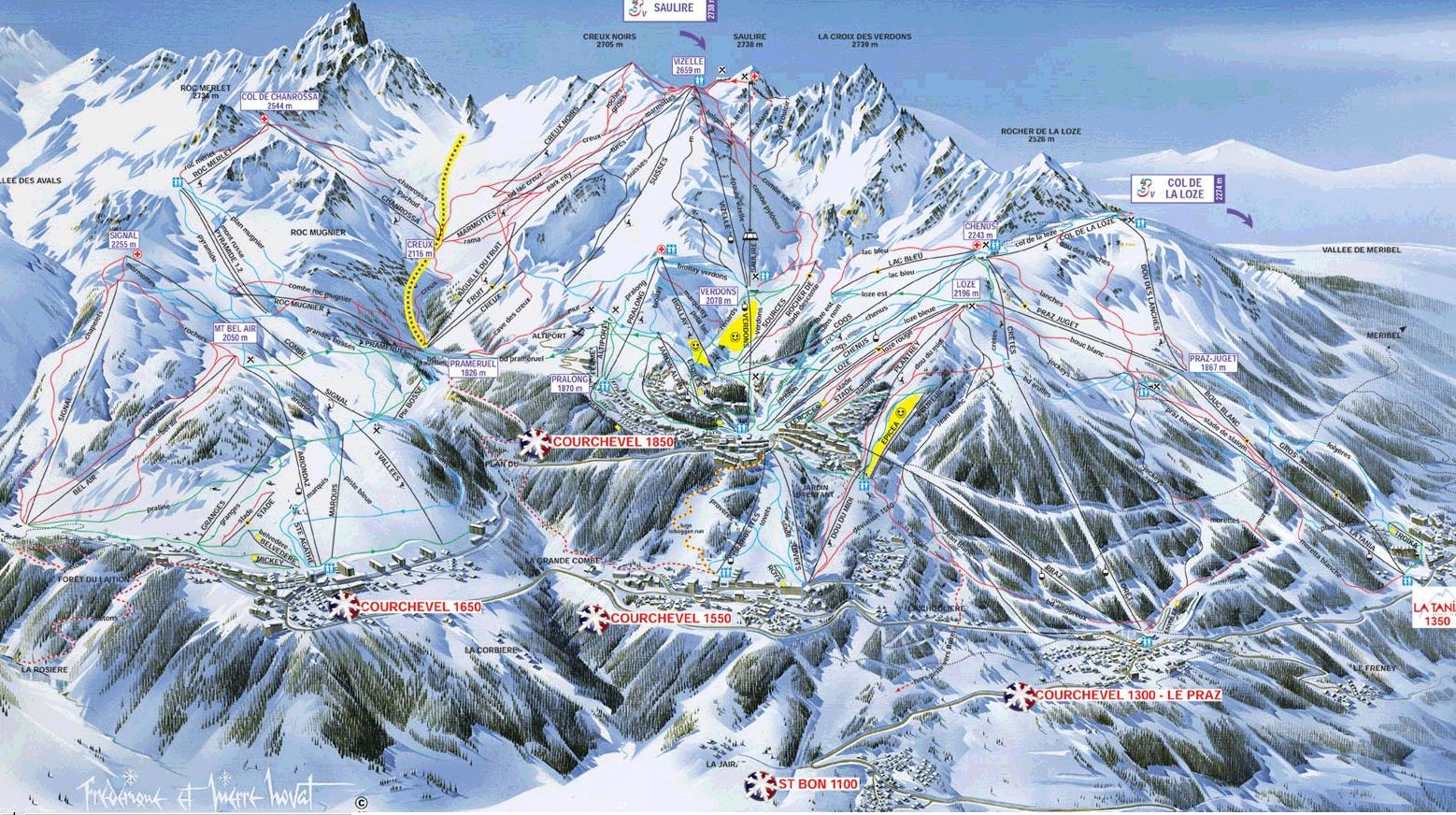 http://www.latania.co.uk/skiing/maps/CourchevelValley.jpg